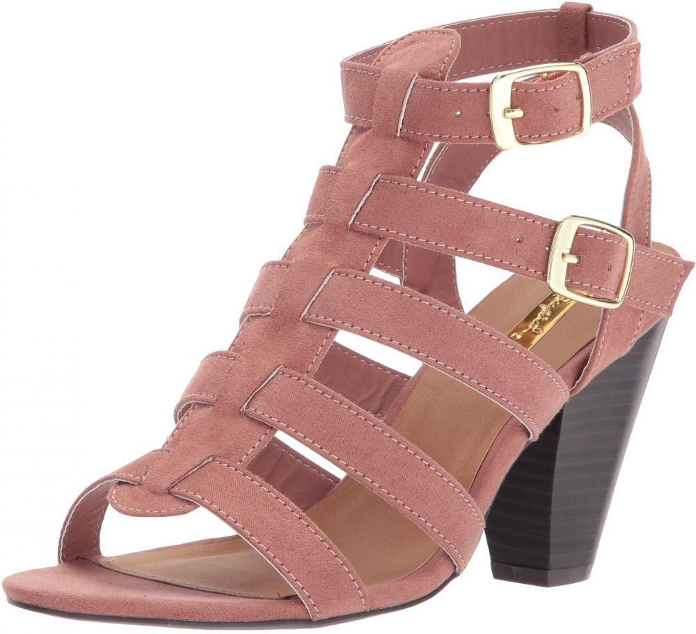 Qupid Women/'s Chamber-17 Heeled Sandal
