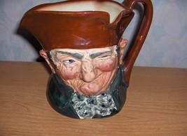 Vintage  Royal Doulton Figurine Toby Mug Old Charley England MINT - $45.00