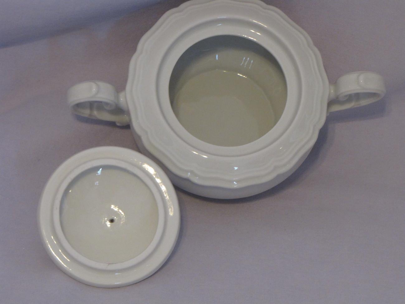 Johann Haviland Bavaria Sugar Bowl