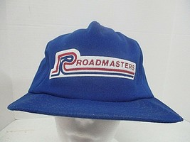 Vintage Snapback Trucker Hat Roadmasters Baseball Cap Made in USA Crown ... - $12.84