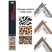 Jungle Set 3 Get-It Straight Laser Square Skins quilting sewing scrapboo... - $18.00