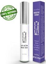 Natural Eyelash Growth Serum - Eyebrow Growth Serum Made in USA Lash Boo... - $14.92