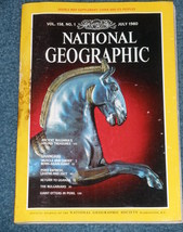 National Geographic Magazine - July 1980 - Vol. 158 - No. 1 - $13.00
