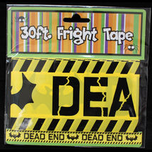 Gothic-Skull & Crossbones--ZOMBIE CROSSING--Fright Caution Tape-Party De... - $3.93