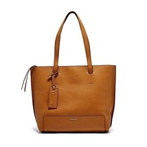 New Fossil Madison Women Leather Shoppers Tote Variety Colors Msrp $248.00 - $158.39