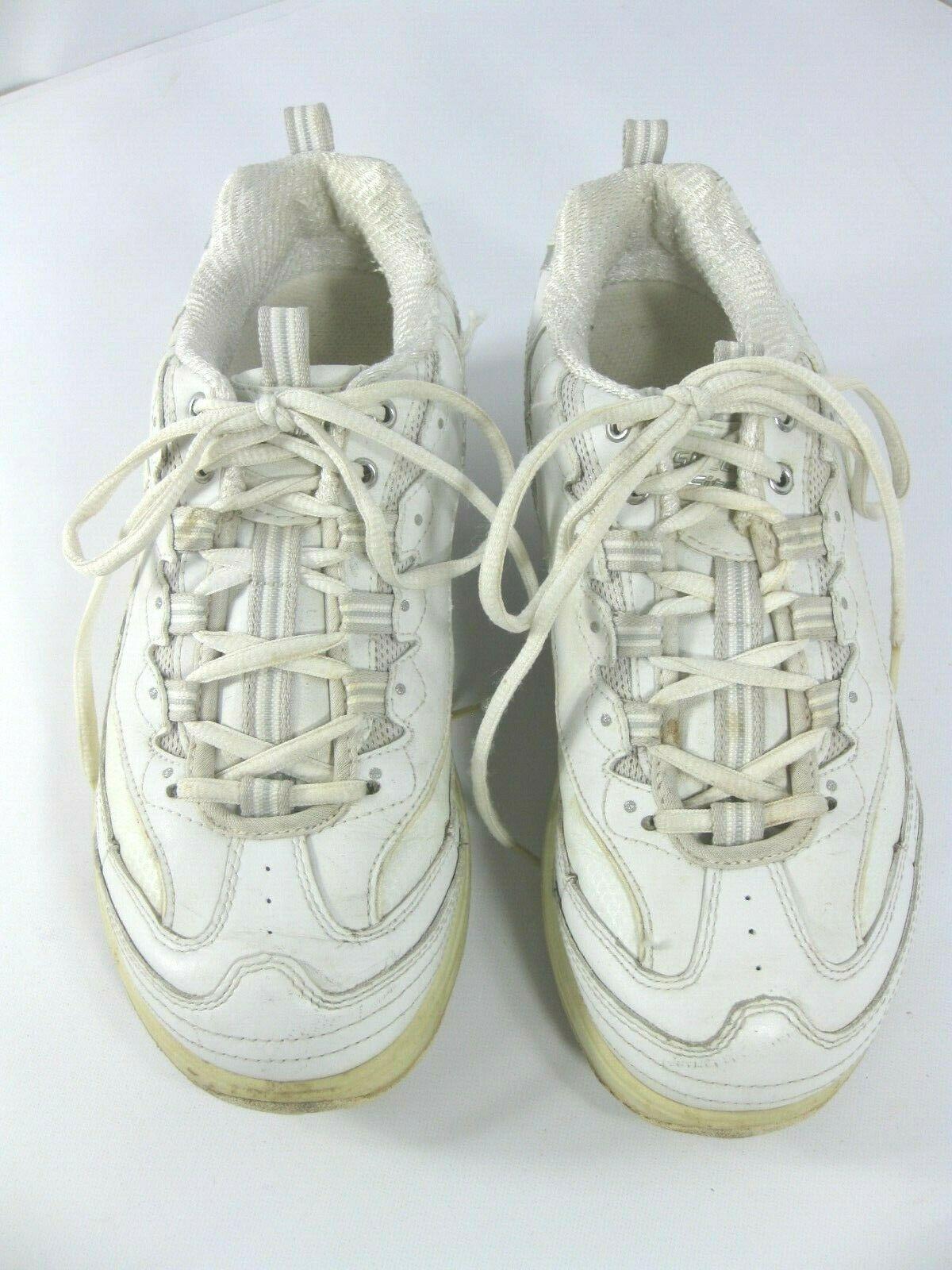 Sketcher Shape Ups Womens Size 8 White 11800 Fitness Sneaker Walking Shoes image 3