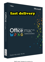Microsoft Office 2011 Home and Business 3 Mac - $9.49