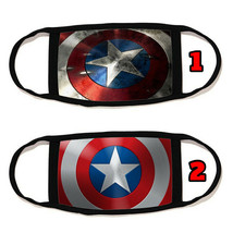 Captain America Face Mask Cotton material Reusable Washable Made in US #11 - $11.63+