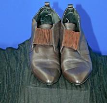 Women's, American Eagle, Vintage, Low-Heel, Brown, Ankle, Booties, Leather, 9 - $14.03