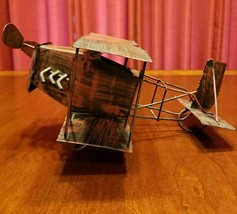 Vintage Copper Handmade Airplane - $35.00