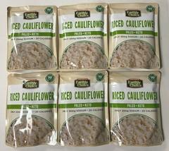 6-PK Earthly Choice Riced Cauliflower Paleo Keto - 8.5 oz ea best by 1/31/2022