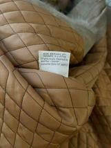 Vintage Women Long Suede Leather Fur Trim Coat Full Length Brown 70s Trench Belt image 9