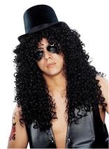 Disfraz Cultura Franco Rizado Rocker Slash Guns Rosas Hombre Peluca Lujo... - €22,84 EUR