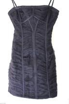 NEW! BCBG Max Azria Black Ruched Sela Strapless Convertible Evening Dress 2 - $78.00