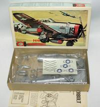 Vintage UPC 1:72 Scale P-47 THUNDERBOLT WWII Fighter Jet Plane Model Kit... - $17.00