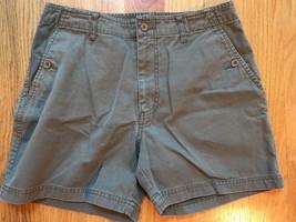 Ralph Lauren Polo Jeans Co Shorts Womens Sz 8 Greenish Brown - $16.82