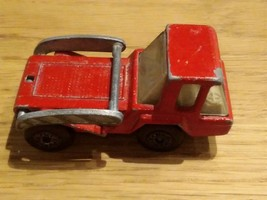 Matchbox No. 37 SKIP TRUCK 1976 Lesney Made in England/RED - $3.00