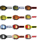 100% Racecraft 2 MX Off Road Ski Motorcycle Snowmobile Snow Goggles (12 ... - $70.00+