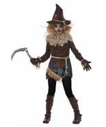 California Costume Creepy Scarecrow Field Tween Girls Halloween Costume ... - $29.99