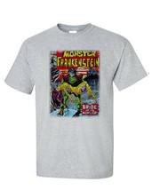 The Monster of Frankenstein T Shirt retro 70s marvel comics Legion of Monsters image 1
