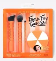 REAL TECHNIQUES brush set Fresh Face Favorites  - $19.83