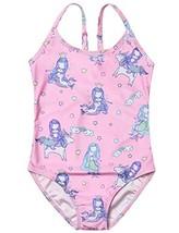 Girl Swimsuit Rainbow Pink Mermaid One Piece Bathing Suits Teen Swimwear... - $15.73