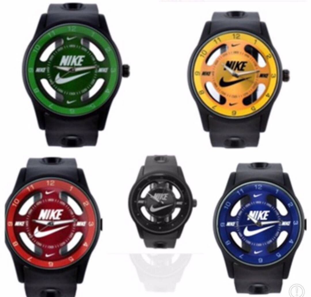 Primary image for Nike ANALOG WATCH SILICONE BAND New W/out Tags No Box 5 To Choose From Free Ship