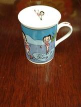 Betty Boop Betty on Ice Mug by Danbury Mint - $18.69