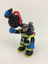 """Billy Blazes New York Firefighter Fisher Price Rescue Heroes 6"""" Action F... - $19.75"""