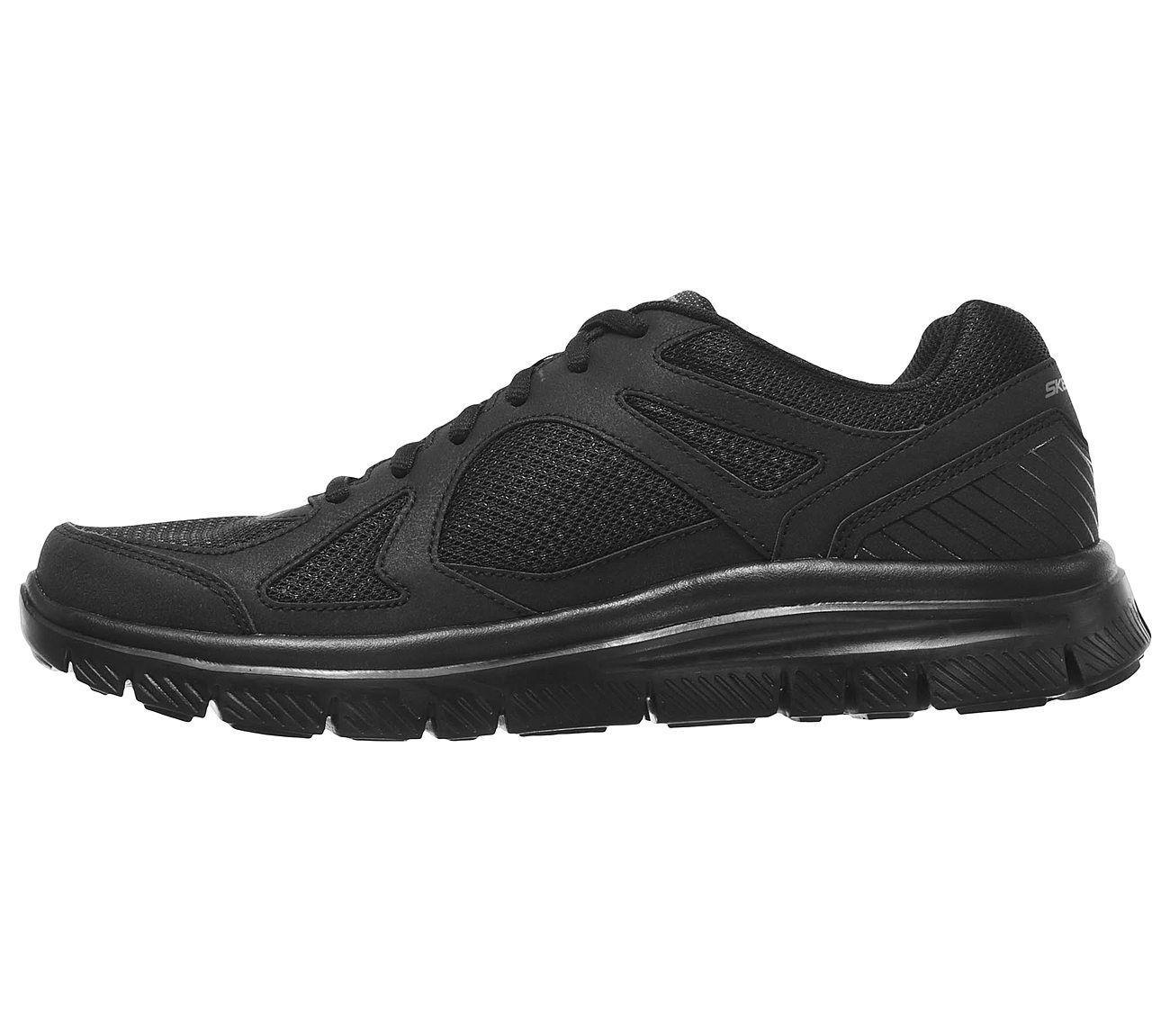 58352 Nero Skechers Scarpe Uomo Confortevole Casual Mesh Sport Memory Sneaker