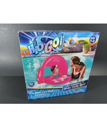H20 Go! UV Careful UPF Baby Care Seat Pink -Covered Pool Float, Ages 1-2 - $9.89