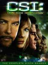 CSI CRIME SCENE INVESTIGATION Complete Sixth 6th SEASON 6 Series DVD Set... - $30.68