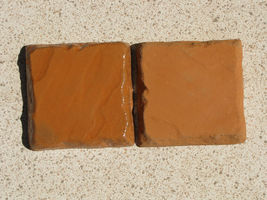"Six Concrete Molds 8""x8""x1.5"" Make 100s of Cobblestones For Patio, Walks, Walls image 6"