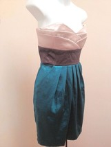 B Darlin 13/14 Dress Strapless Colorblock Shimmer Empire Waist Party Holiday - $23.50