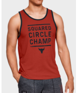 Under Armour Mens UA Project Rock Squared Circle Champ Tank Top 1326391 ... - $25.49