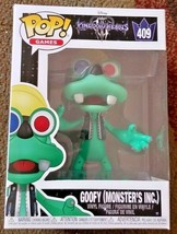 Funko Pop! Games Disney Kingdom Hearts III: Goofy (Monsters, Inc.)  #409 - $10.99