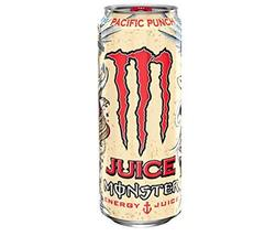 Juice Monster Energy, Pacific Punch, 16 Ounce Cans (Pack of 6) - $22.76