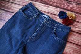Chico's Jeans Denim Capris Medium Wash Sz 1.5 Stretch Crop Womens Pants  - $14.03