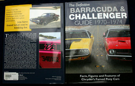 THE DEFINITIVE BARRACUDA & CHALLENGER GUIDE 1970-74 Scott Ross factory s... - $26.96