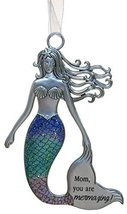 3.5 Inch Zinc Mermazing Mermaid Ornament- Mom - $133,40 MXN