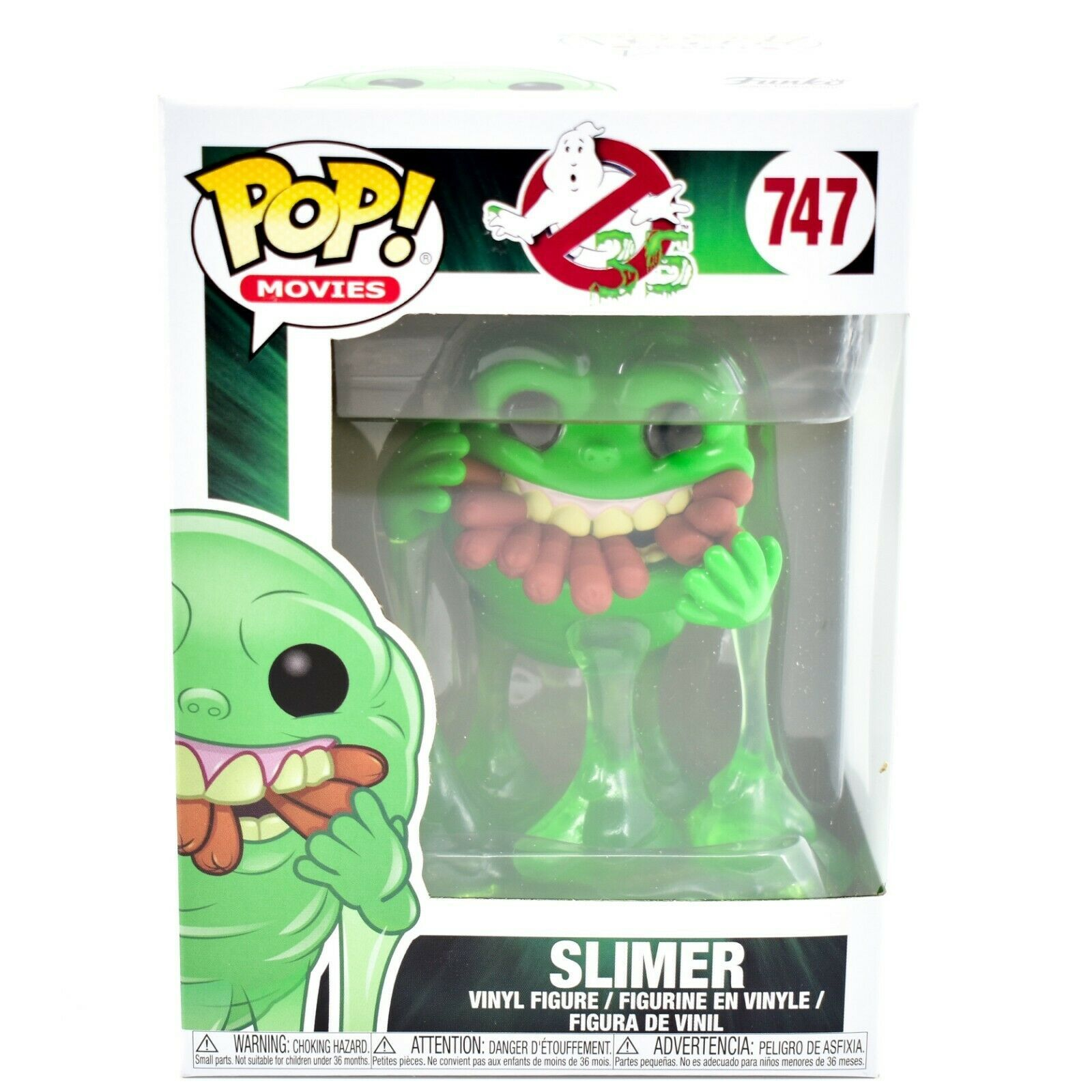 Funko Pop! Movies Ghostbusters 35 Slimer with Hotdogs #747 Vinyl Figure