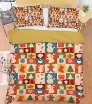 3D Christmas  Xmas 26 Bed Pillowcases Quilt Duvet Cover Set Single Queen King AU - $64.32+