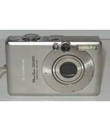 Canon PowerShot Digital ELPH SD450 5.0MP Digital Camera - Silver - $32.73