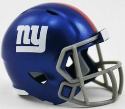 NFL New York Giants Helmet Riddell Pocket Pro SPEED Style Mini Team helmet image 2