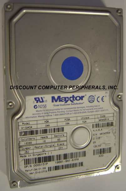 Primary image for 10GB 3.5in IDE Drive Maxtor 91024D4 Tested Good Free USA Ship Our Drives Work