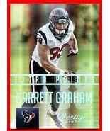 2015 Prestige EXTRA POINTS Foil Garrett Graham 18/25 Texans - $8.91