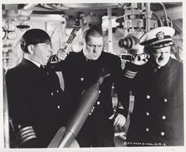3 Stooges Navy Moe Larry Curly Vintage 5X7 BW TV Memorabilia Photo - $3.95