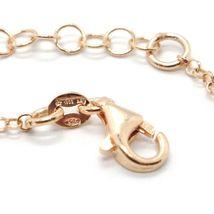 Silver Bracelet 925 Laminated in Rose Gold le Favole Crown AG-905-BR-28 image 6