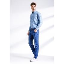 Vintage men's jeans nostalgia Brand new men jeans, casual jeans, pure color image 6