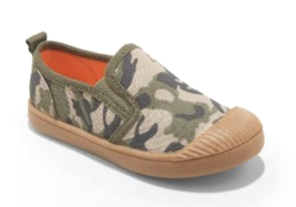Cat & Jack Toddler Boys' size 11 US Laif Camouflage Slip-On Sneakers Shoes NWT